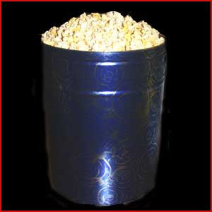6.5 Gallon Tin Of Salted Popcorn