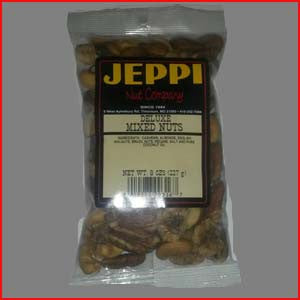 Mixed Nuts Deluxe, No Peanuts Salted 24/8oz Bags