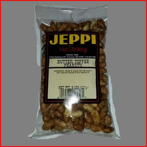 Butter Toasted Peanuts 24/8 Ounce Bags