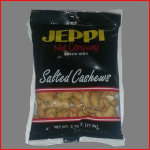 Cashews, 240ct Salted 24-2 3/4 Ounce Bags