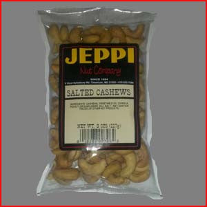 Cashews, 240ct Salted 24/8oz Bags
