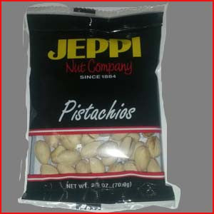 Pistachios, California Natural Salted 24/2.5oz Bags