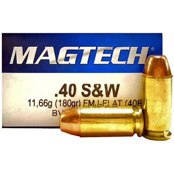 MAGTECH or Sellier & Bellot .40 S&W 180 GR - 250 Rounds