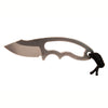 "Hogue EX-F03 Neck Knife: 2.25"" Tumbled Clip Point Blade"