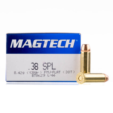 MAGTECH or Sellier & Bellot 38 SPL 125GR - 250 Rounds