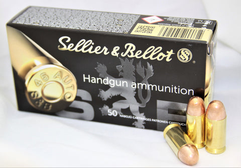 MAGTECH or Sellier & Bellot 45 ACP 230 GR - 1000 RDS.