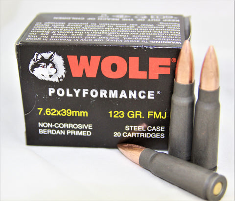 WOLF 7.62X.39 1000 RDS.