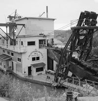 Antique Gold Dredge No. 8