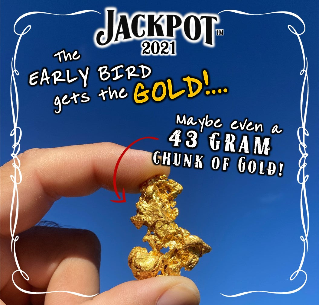 Early Bird gets the gold!