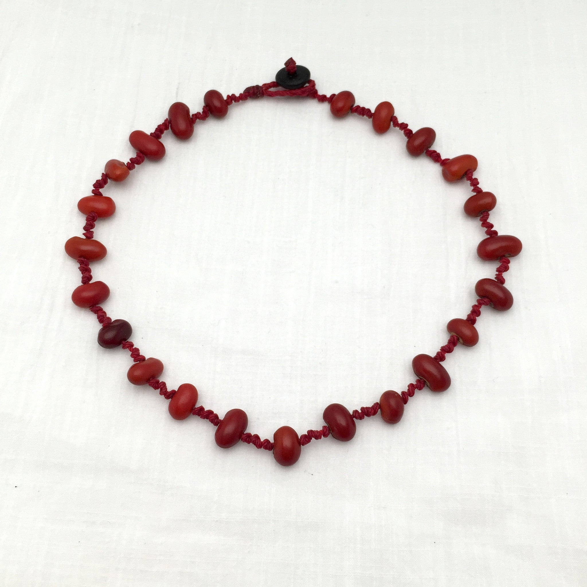 Lucia Necklace zompantle/red