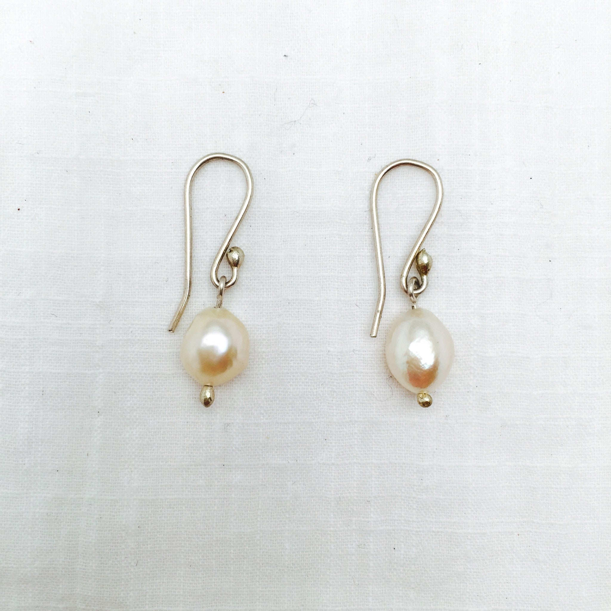 Magdalena pearl drop earrings
