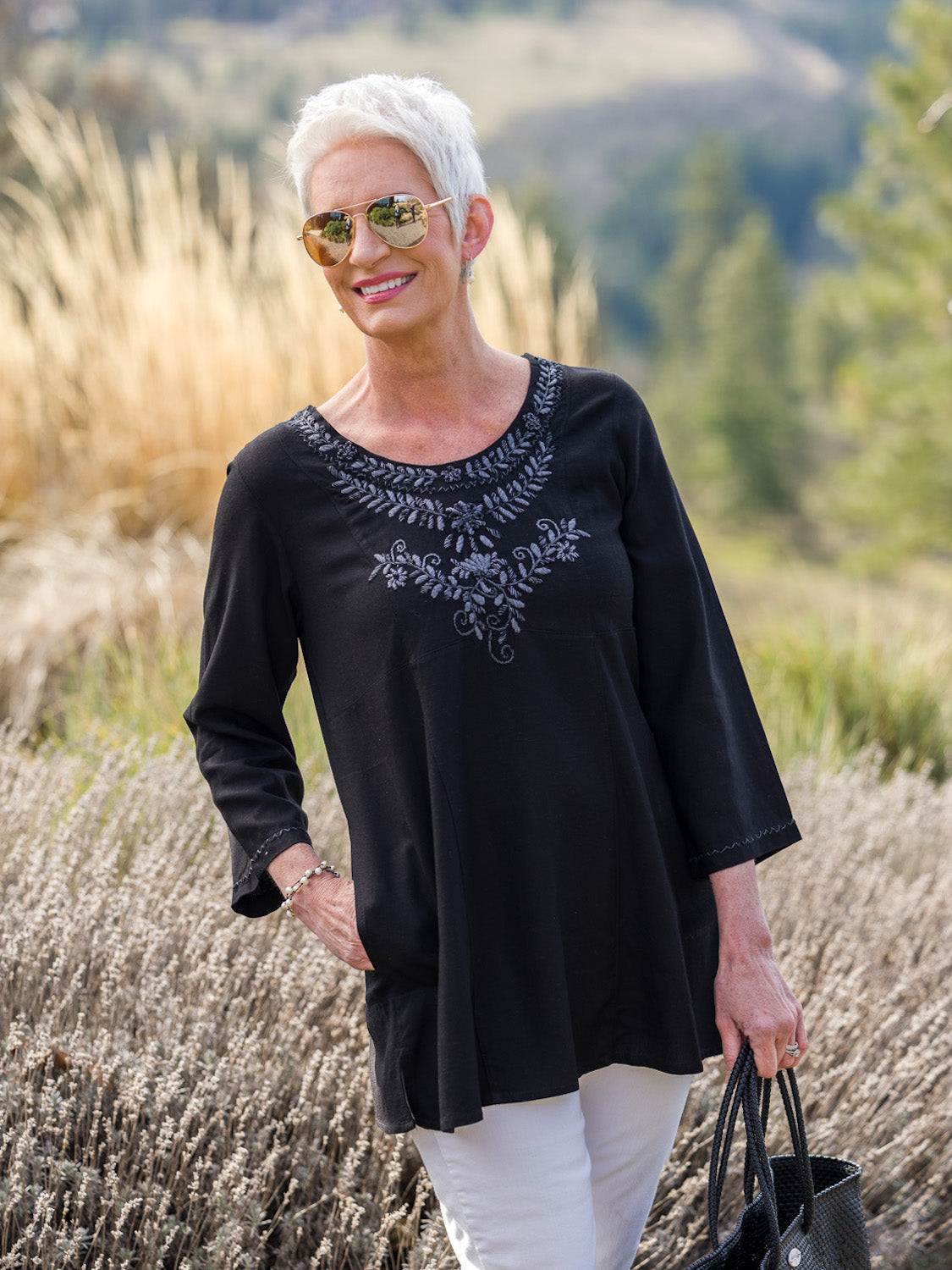 Laura Tunic - black
