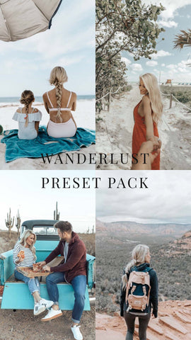 30 min left for the sale! WanderLust Photo mobile presets