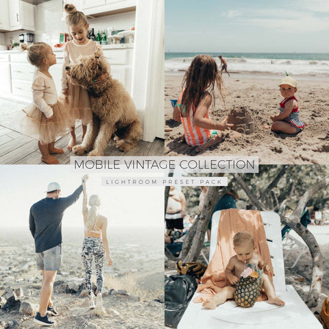 NEW - The Mobile Vintage Collection (10 presets)