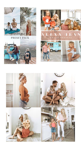 3 Pack BUNDLE(16 presets total) - all 3 mobile packs - ALEXA JEAN - WANDERLUST - BRIGHT & AIRY)