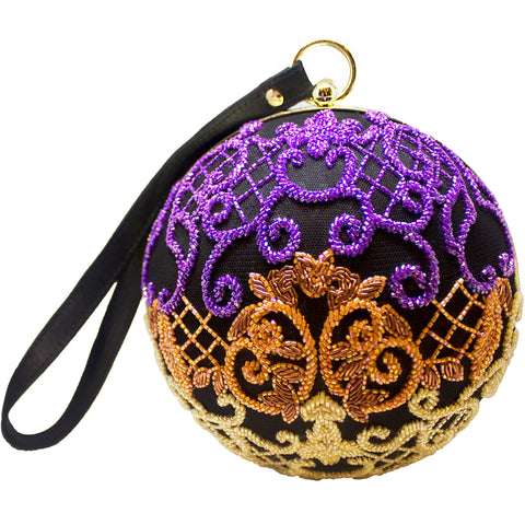 Multi-Coloured Baroque Beauty Clutch