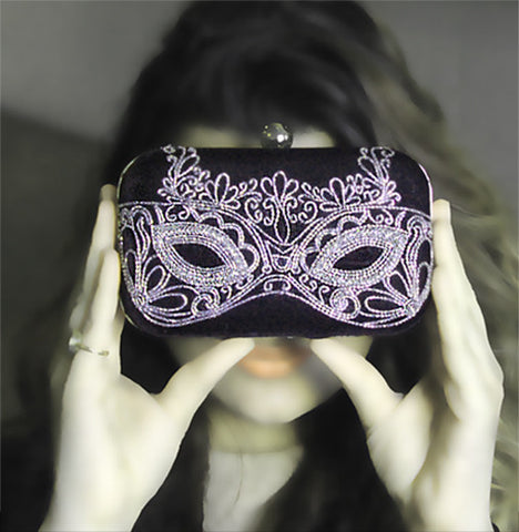 New! Masquerade Clutch - Garéma Official