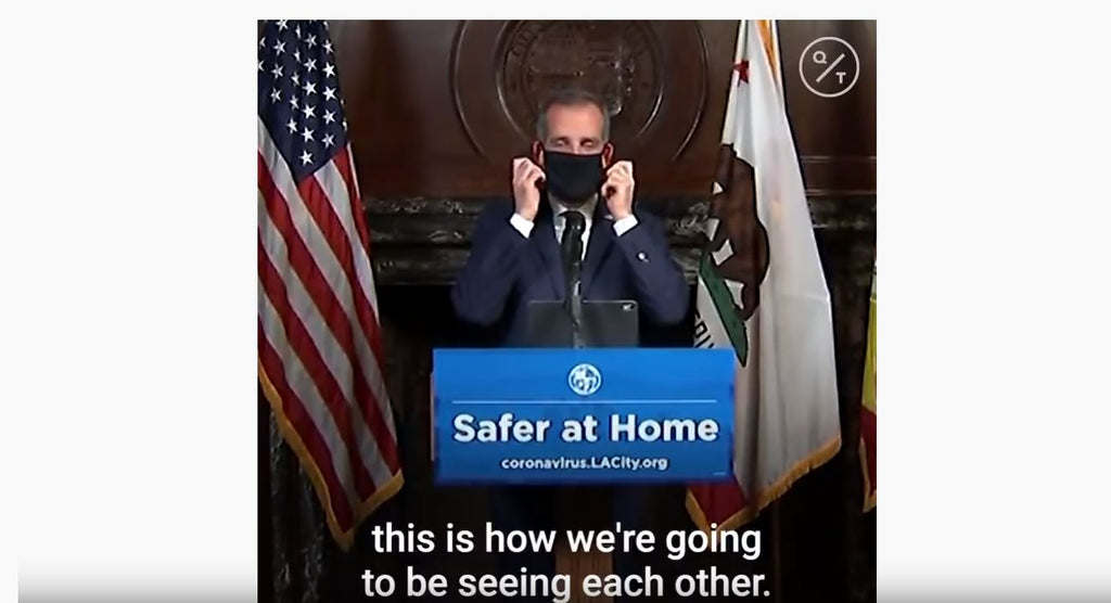 Important Announcement from Eric Garcetti, Mayor of Los Angeles.
