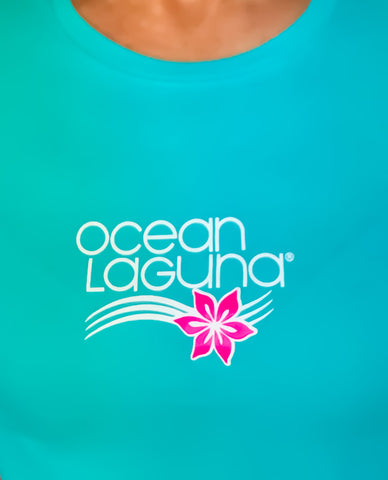 Ocean Laguna Wave and Flower T-Shirts