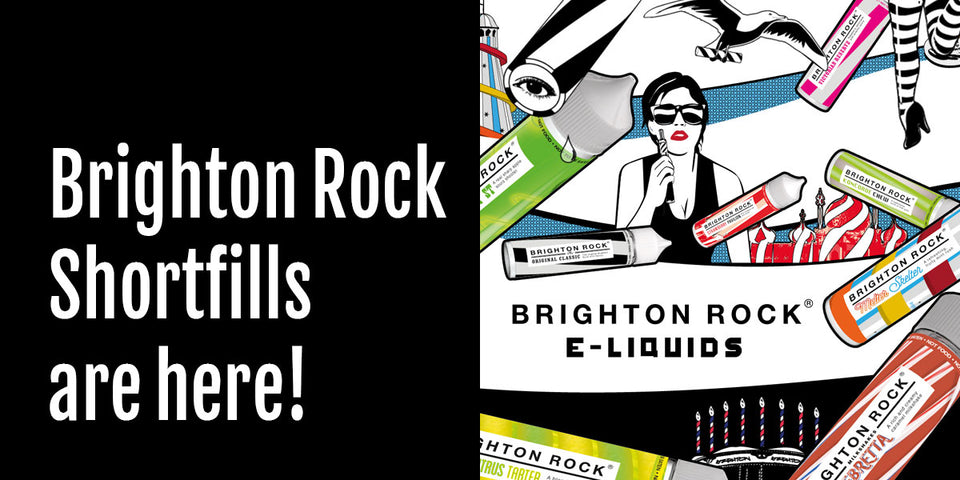 Making Brighton Rock - it's a vape state!