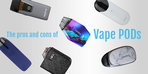 The Vape UK guide to the pros and cons of Vape PODs and compacts