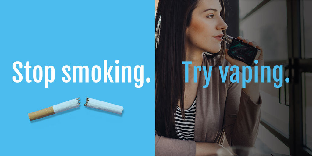 What are the benefits of quitting smoking and switching to vaping?
