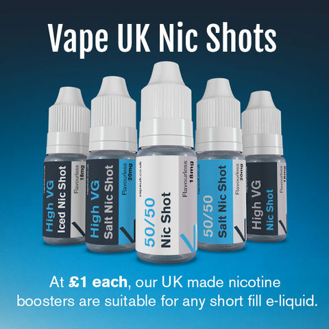 Vape UK Nic Shots