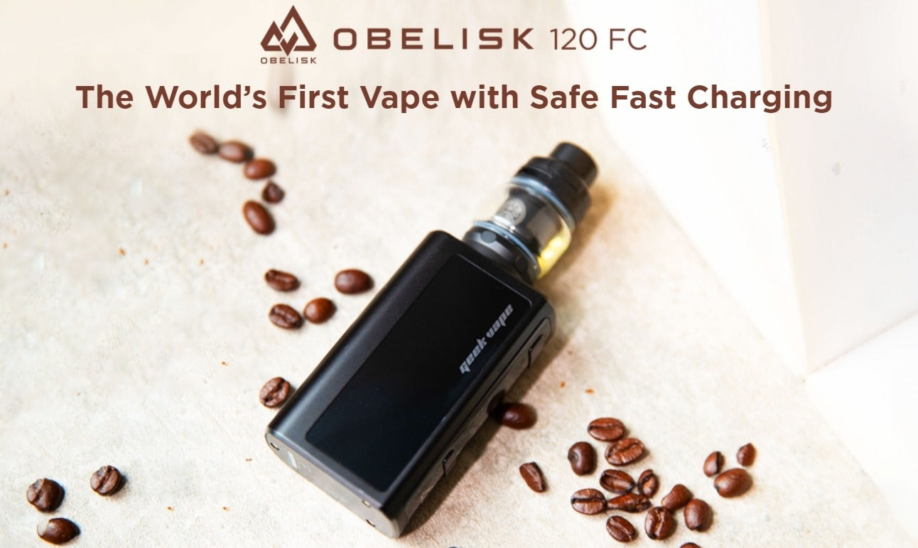 World's first vape with safe fast charging.