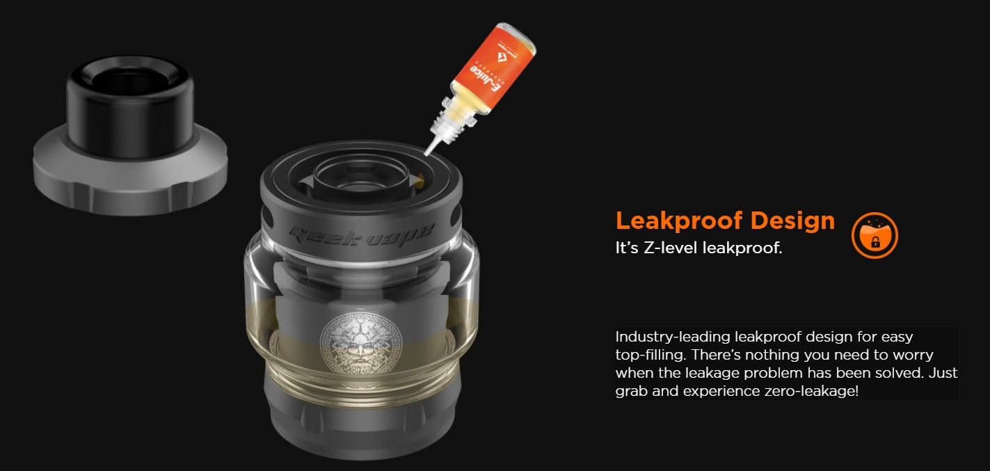 The leak-proof design stops the worry of a leaking tank.