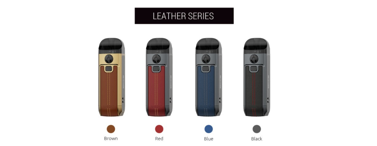 4 Leather colours