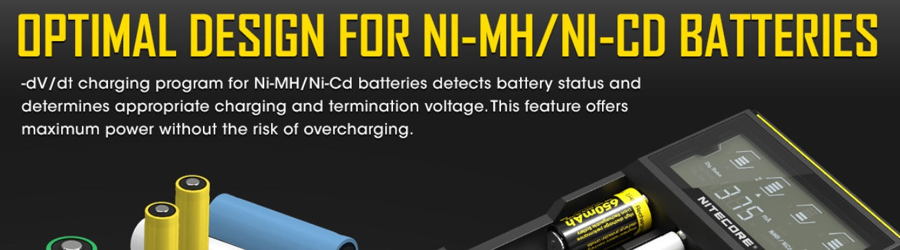 Detects and determines the the most appropriate charging and termination voltage.