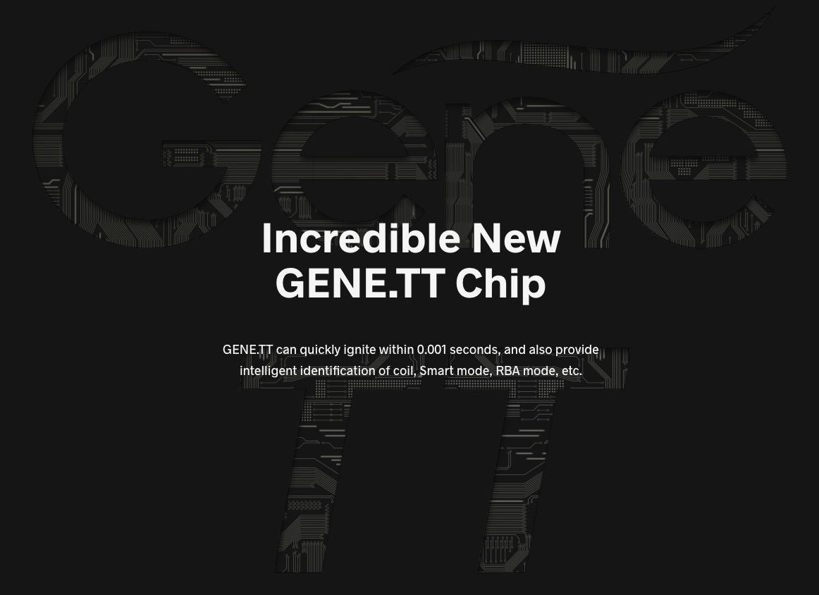 Featuring the GENE.TT chip