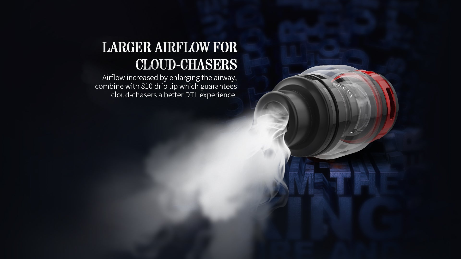 Featuring an increased airflow capacity