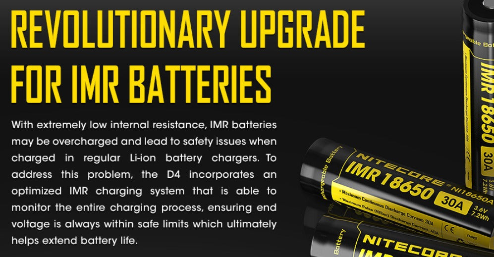 The D4 monitors the entire charging process, ensuring the end voltage is always within safe limits.