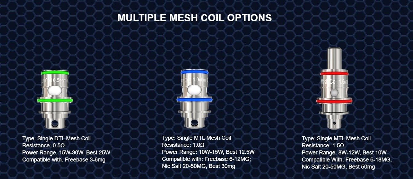Three members of the FM coiltech 4.0 family.