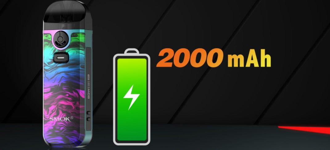 2000 mAh battery capacity