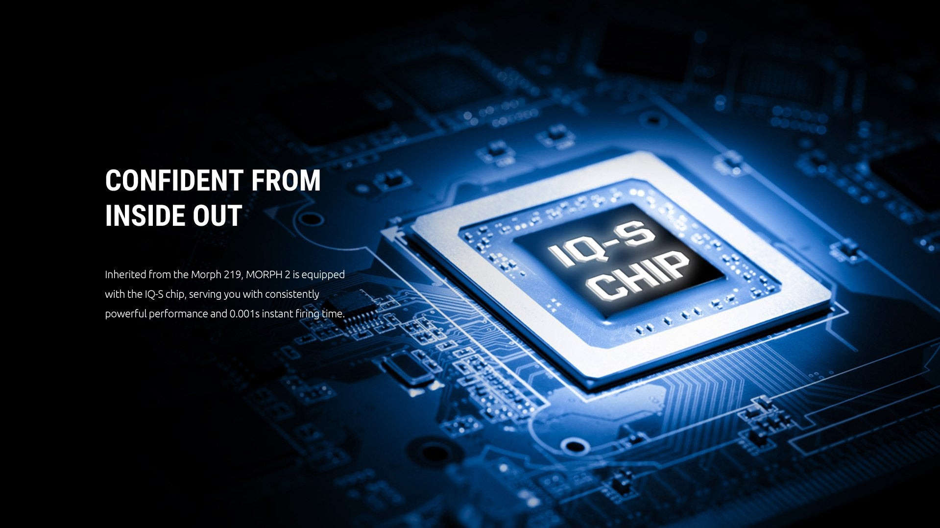 Featuring the IQ-S Chip
