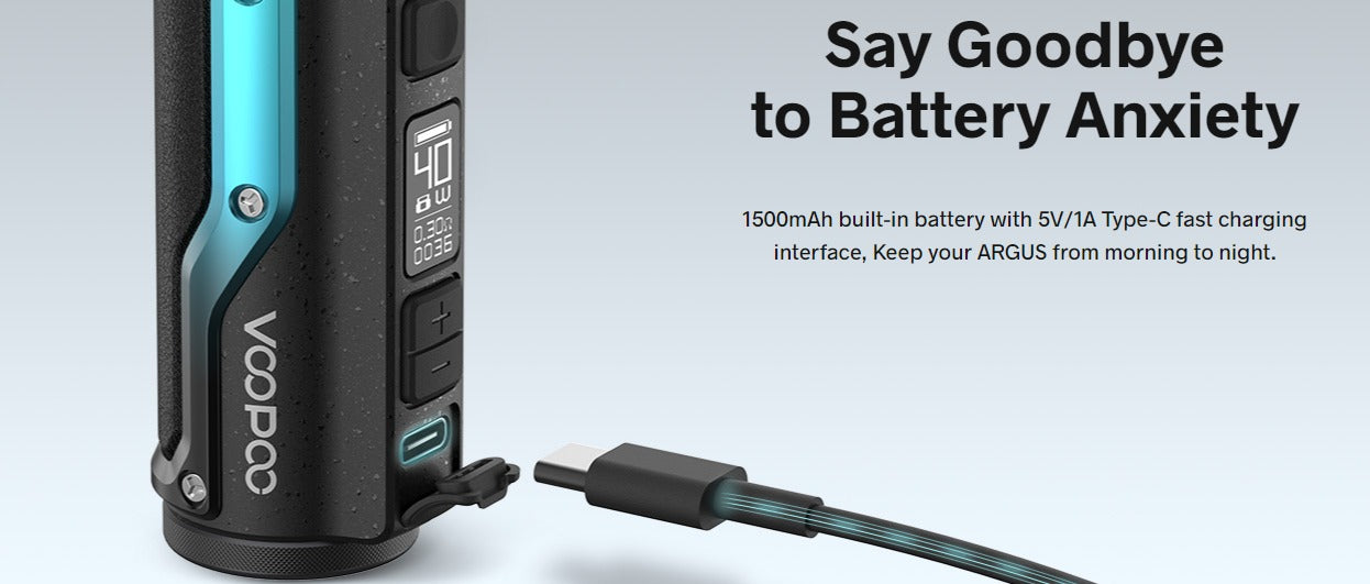 USB Type-C Charging and a 1500mAh battery.