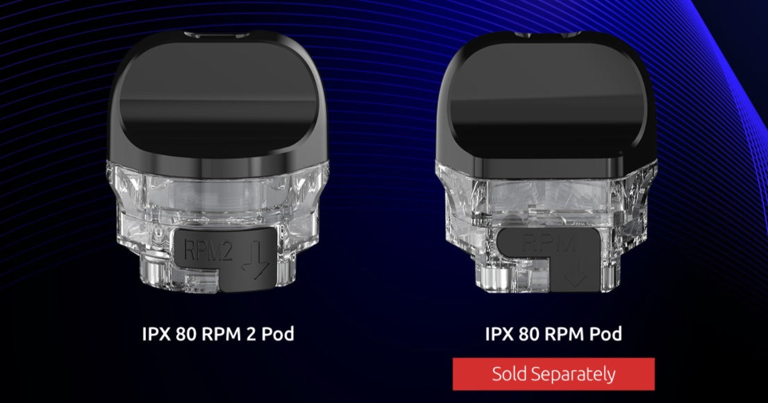 IPX 80 RPM 2 and IPX 80 RPM pod compatibility.