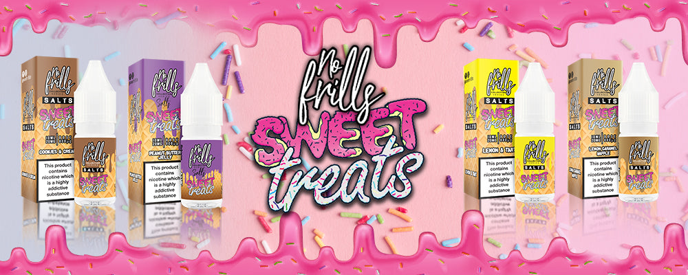 No Frills Sweet Treats Nic Salts