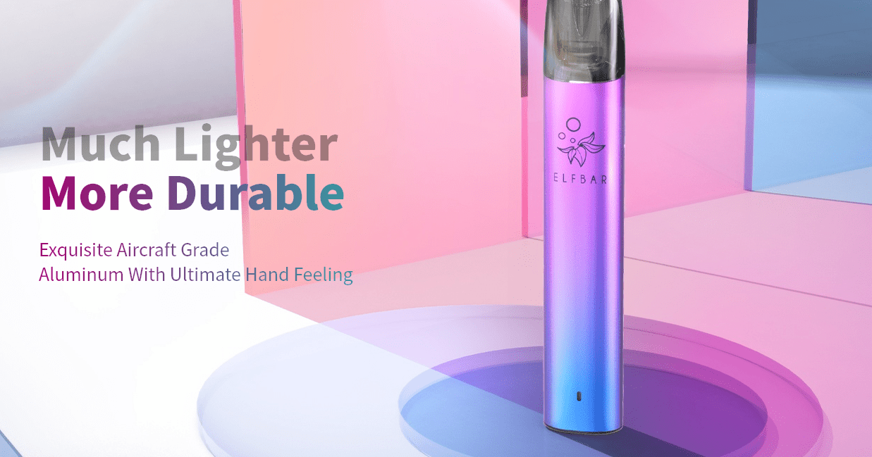 Much lighter and more durable.
