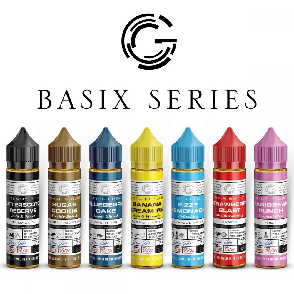 All In Glas.Glas Basix Series All Flavours Bundle Save 15
