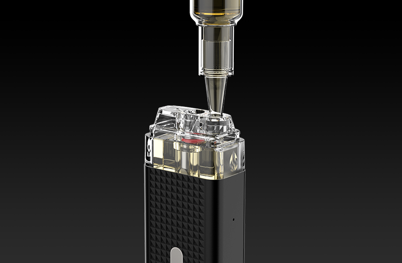 Refilling with your favourite e-juice couldn't be easier