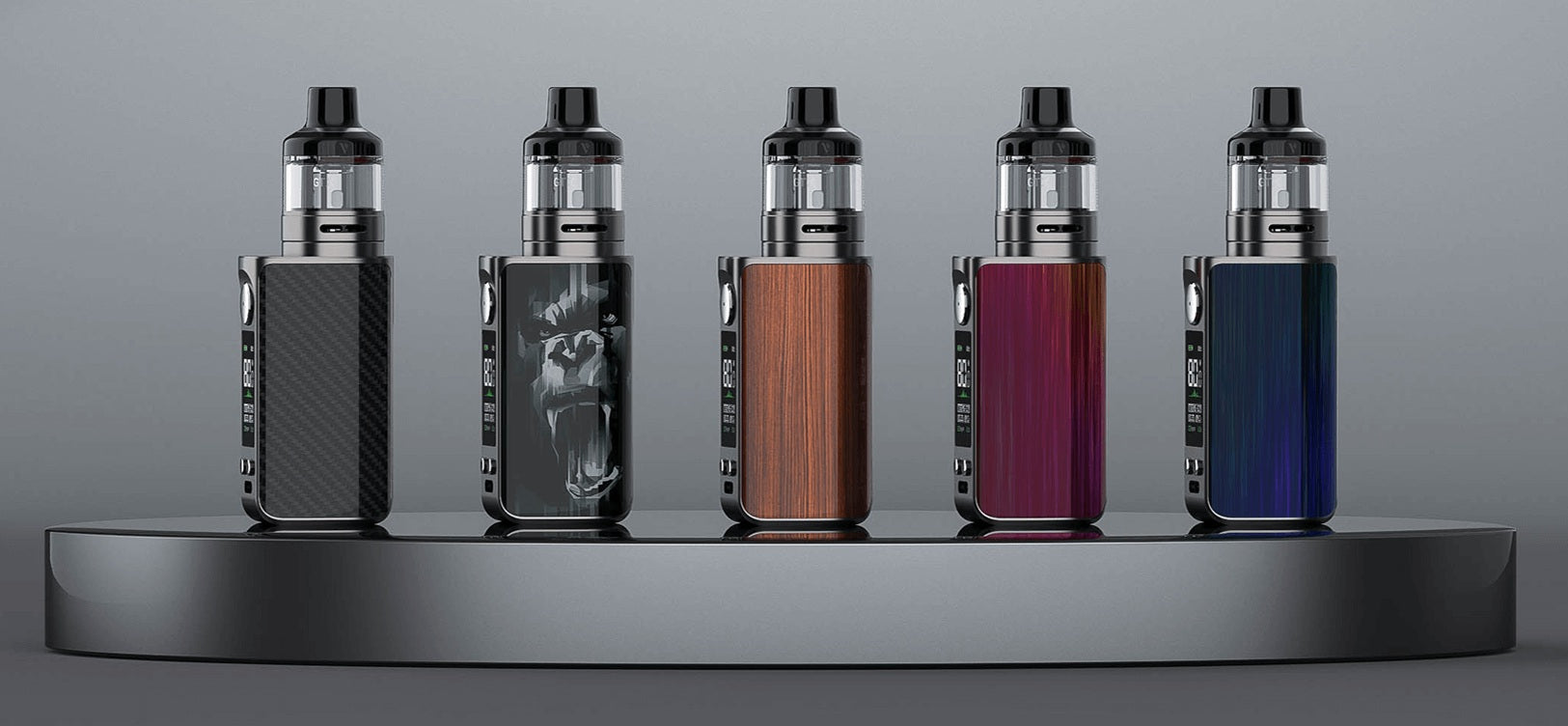 Luxe 80 is available in five colours