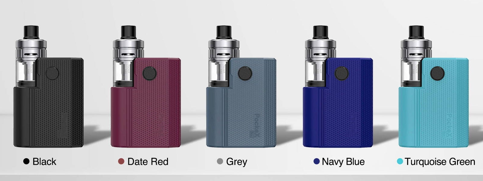 PockeX Box is available in five colour options