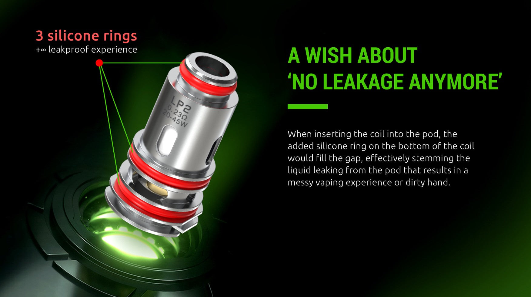 SMOK LP2 Coils with leak proof technology