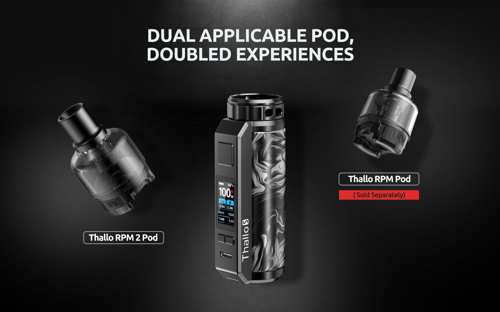 Use either RPM 2 or original RPM coils with compatible pods
