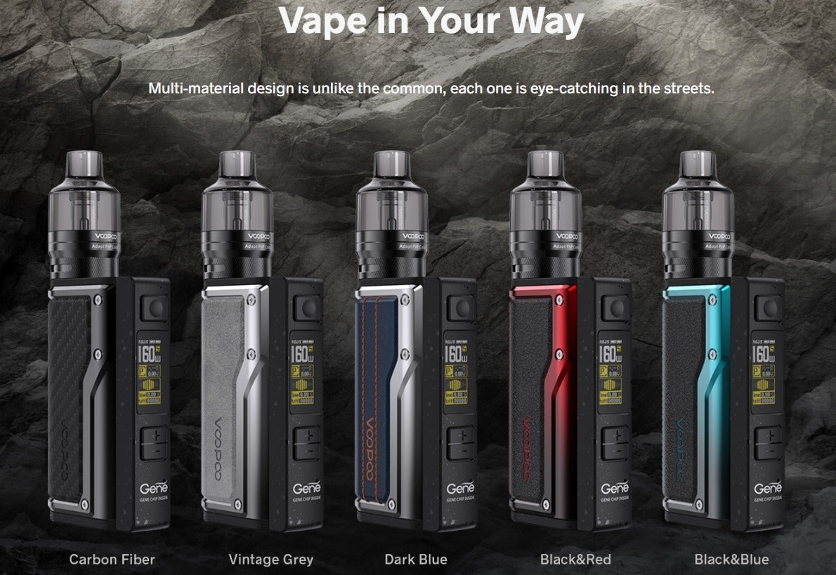 VooPoo Argus GT Kit - available from Mighty Vape