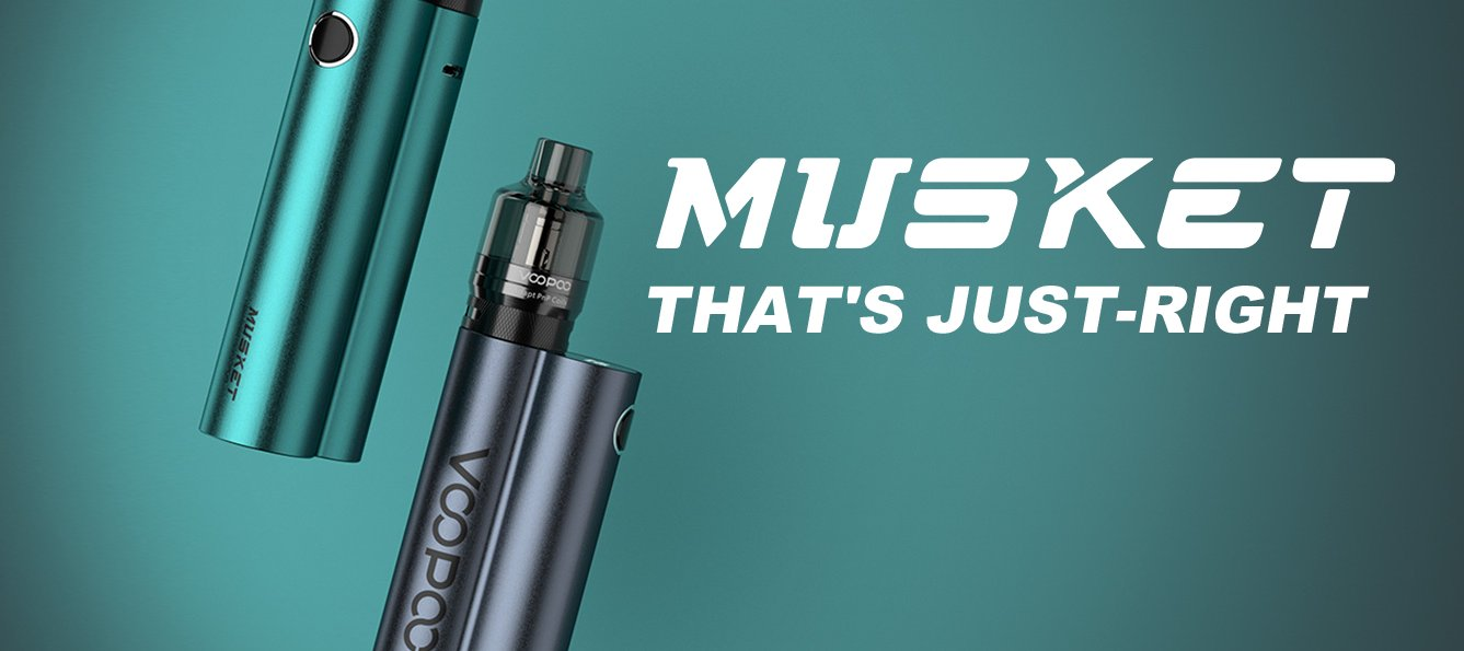 The VooPoo Musket kit; that's just right