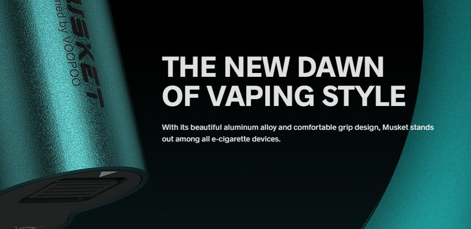 Standing out from other vape devices, with it's beautiful aluminium design.